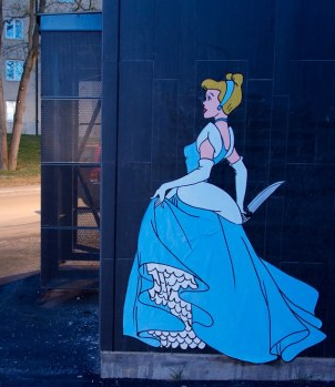 Dark Princesses: Swedish Artist Adorns Stockholm's Streets With A Sinister Take On Disney #ArtInstituteOnline