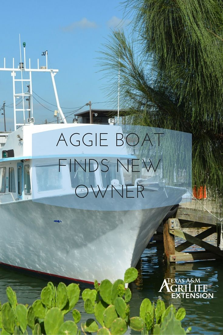 Floating aggie classroom passes to new owner floating