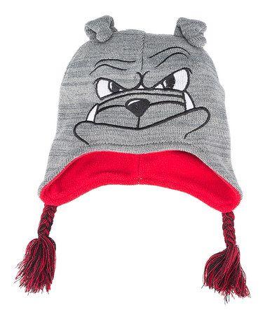 7ce2cecc22a6d Look what I found on  zulily! Georgia Bulldogs Mascot Earflap Beanie ...
