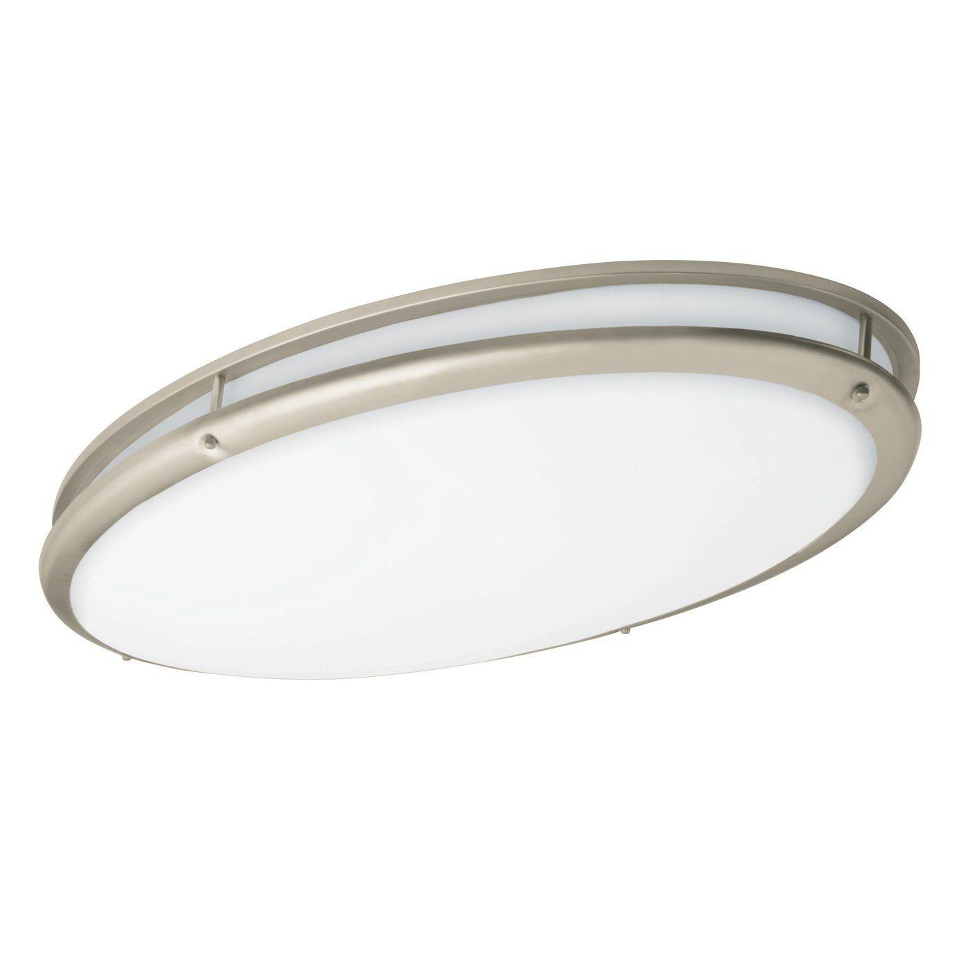 48 Best Kitchen Lighting Fixtures: In Bronze AFX Lighting CSV3232 Contemporary Oval Flush