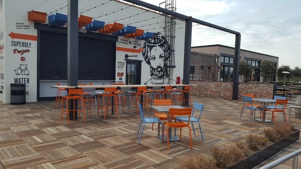 Ponce City Market Rooftop Fermob Luxembourg Chairs And Tables City Market Fermob New Homes
