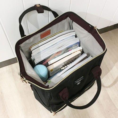 Photo of Bagail Casual Travel Satchel School Bag  Shoulder Backpack Rucksack Laptop For Women Men