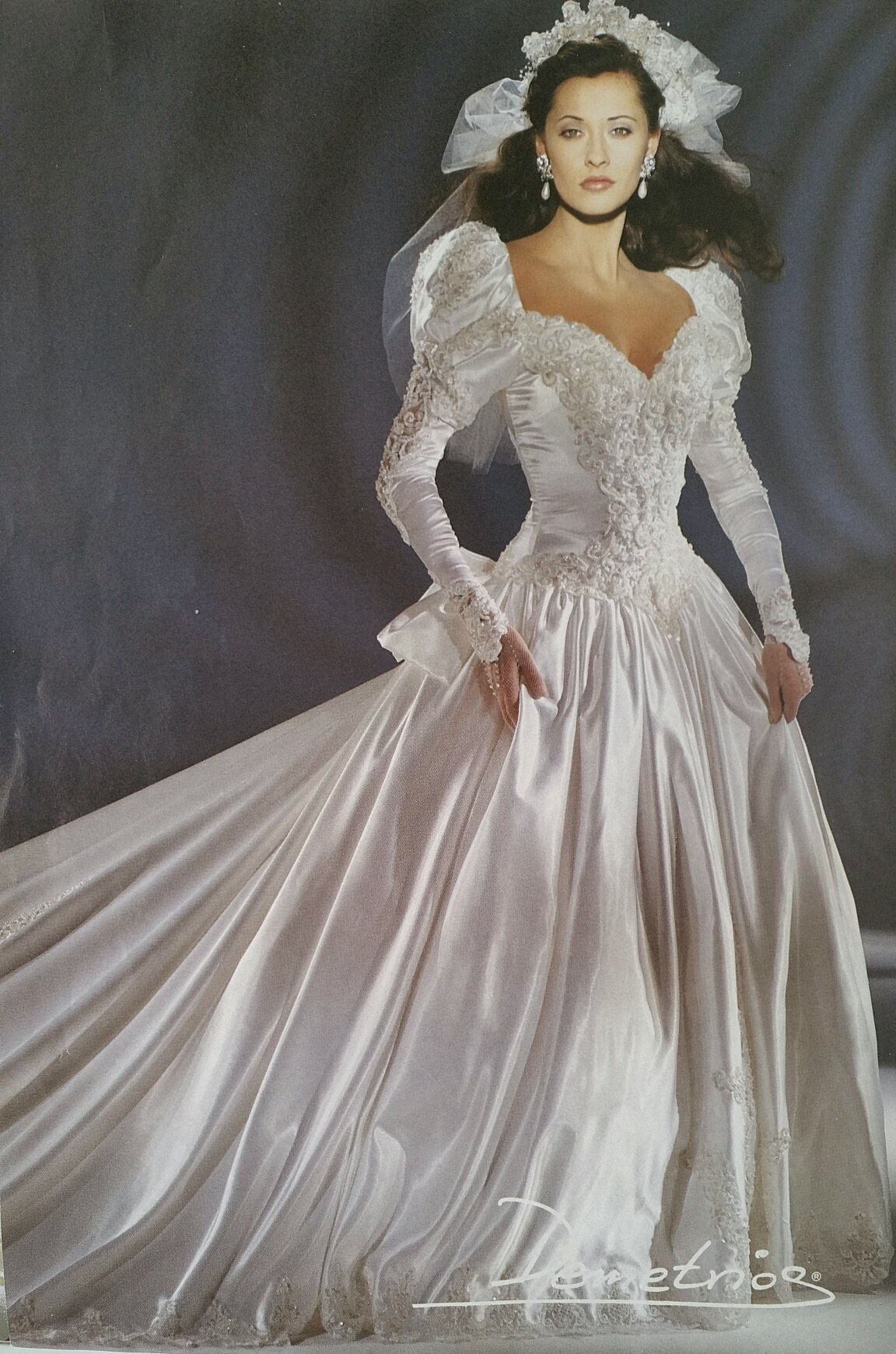 Demetrios that gown looks fabulously expensive s