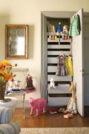 Have An Older Home With Tiny Closets In A Child S Room This Seems Like Perfect Solution What Do You Think
