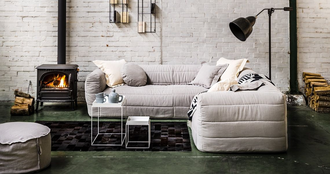 perfect cabin sectional from Verellen : verellen sectional - Sectionals, Sofas & Couches