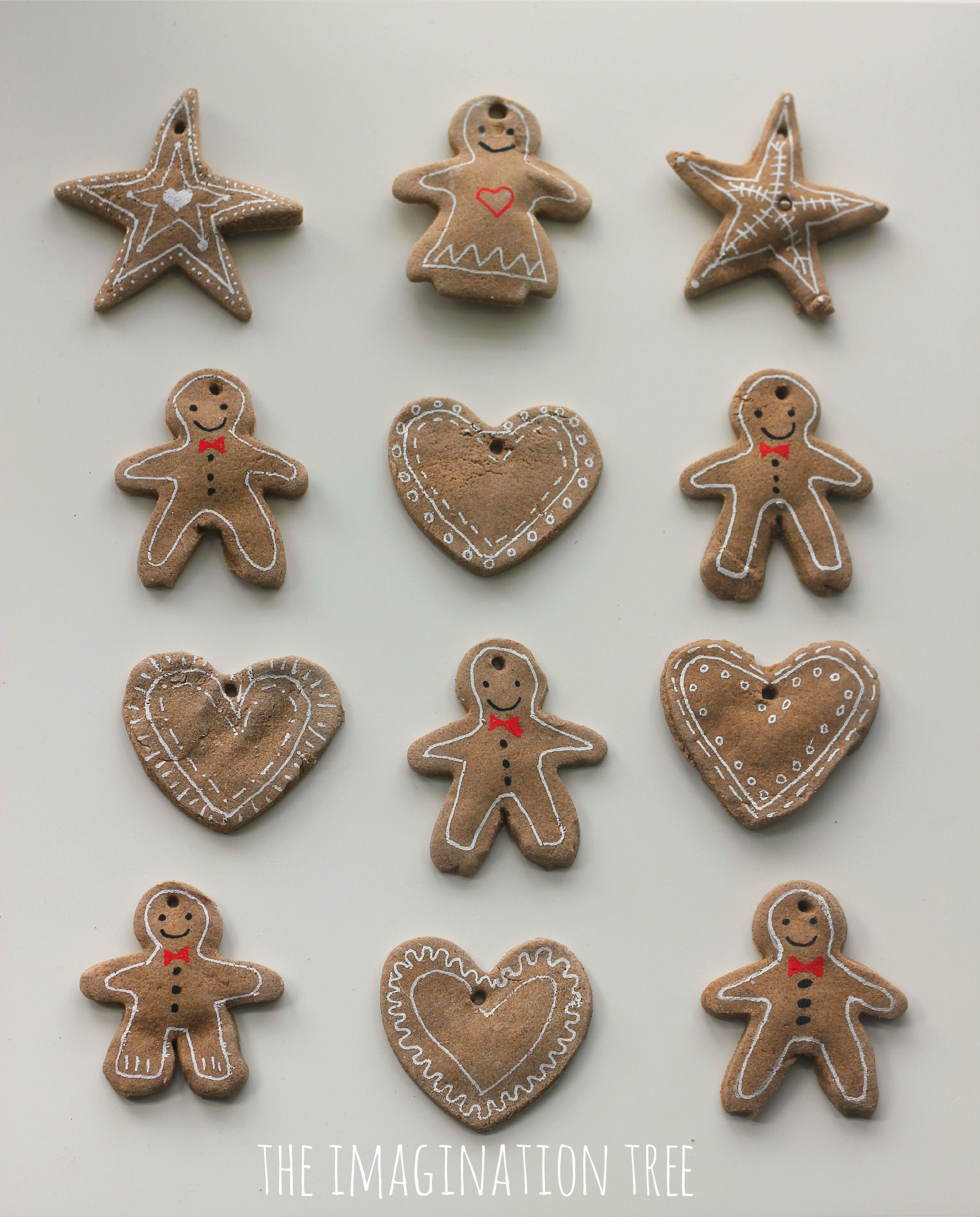 Gingerbread Clay Recipe For Ornaments Clay Ornaments