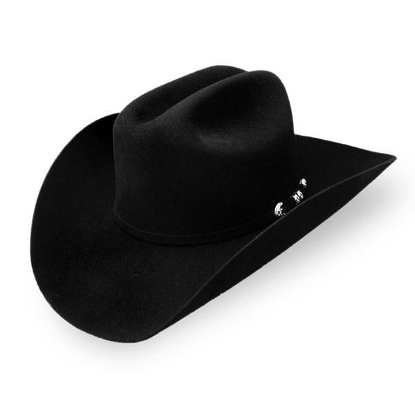a18caf18 Stetson Resistol 'Suede Eight' 8X Western Rancher Hat for Men Black ...