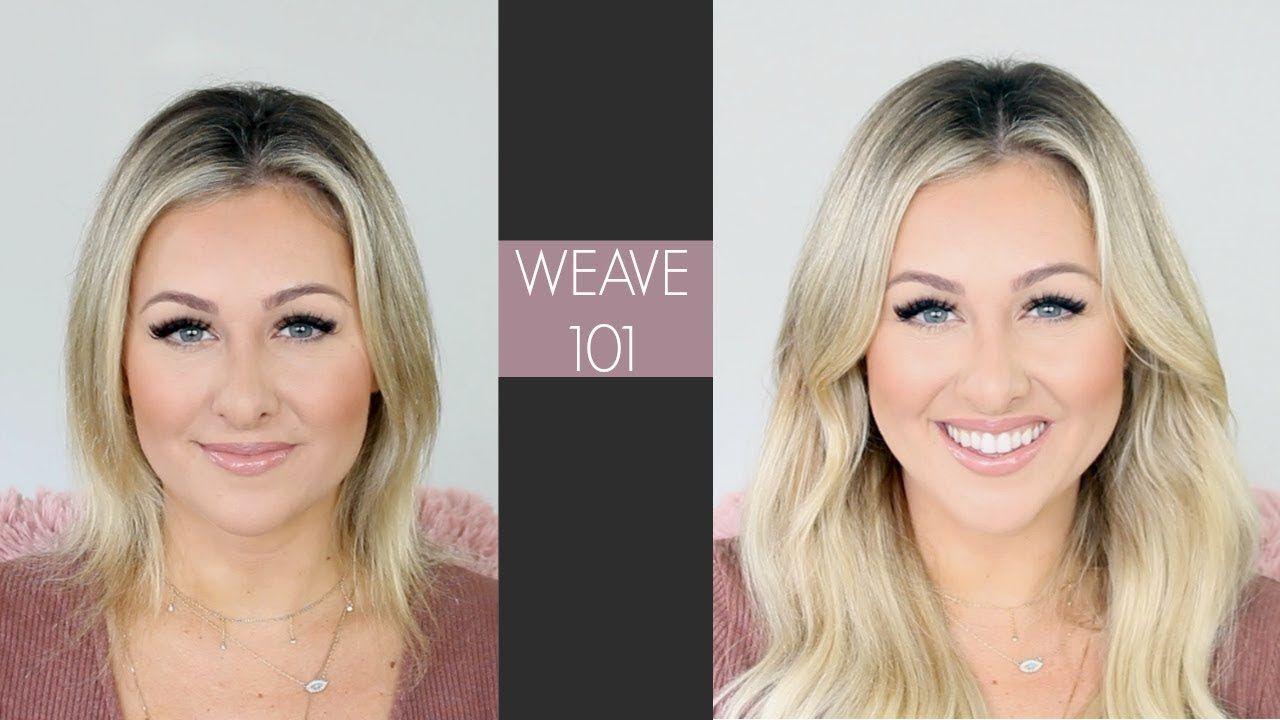 Weave 101 Best Hair Extensions Hair Videos Pinterest Hair