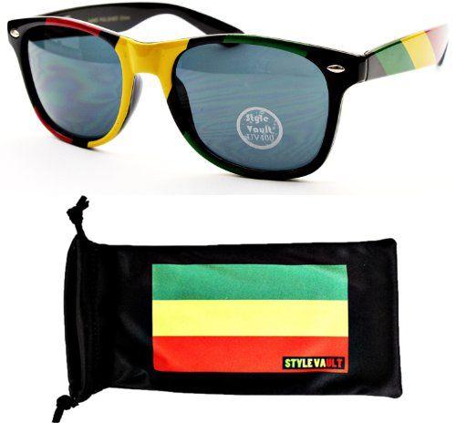 77cbb8b3d1b Style Vault W54-rp Rasta Reggae Wayfa...