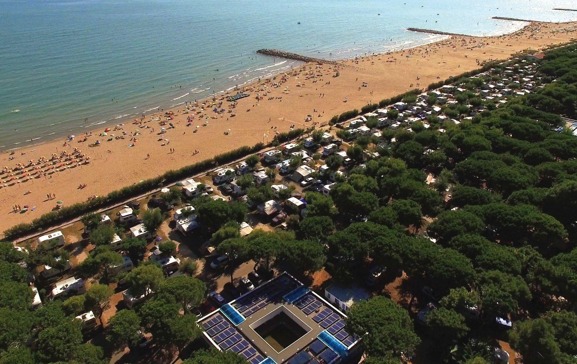 Camping Village Cavallino Sommer In 2019 Camping Venedig Und