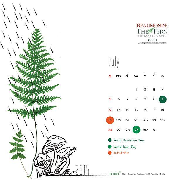 Eco Calendar On Behance
