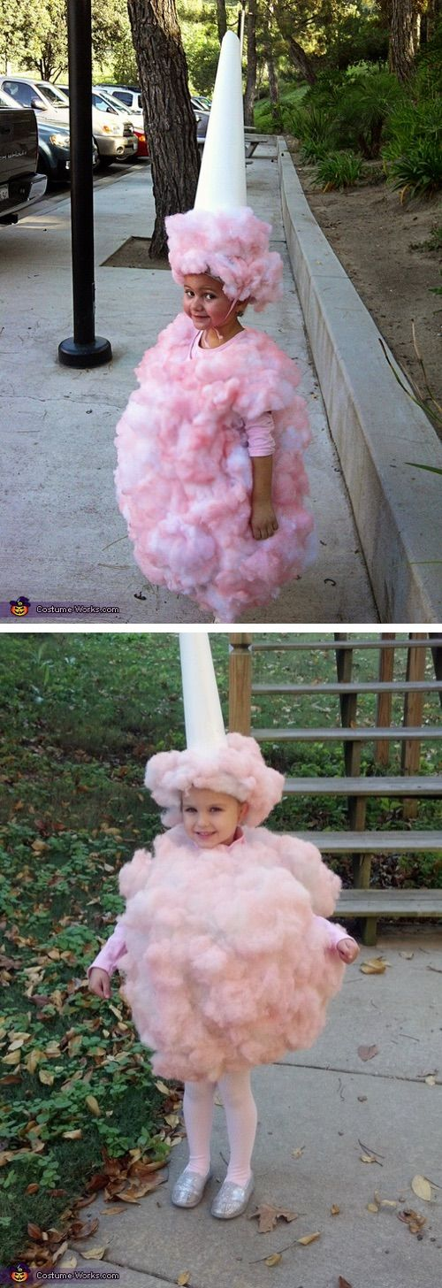 30 Easy DIY Halloween Costumes For Kids (Boys and Girls!) | Homemade Cotton Cand…