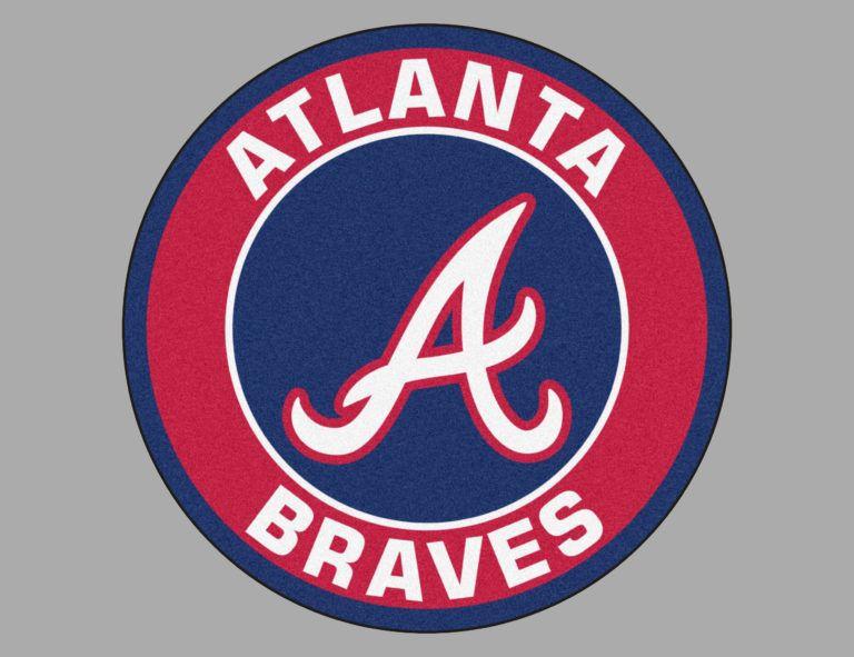 Color Atlanta Braves Logo Atlanta Braves Atlanta Braves Logo Braves Baseball
