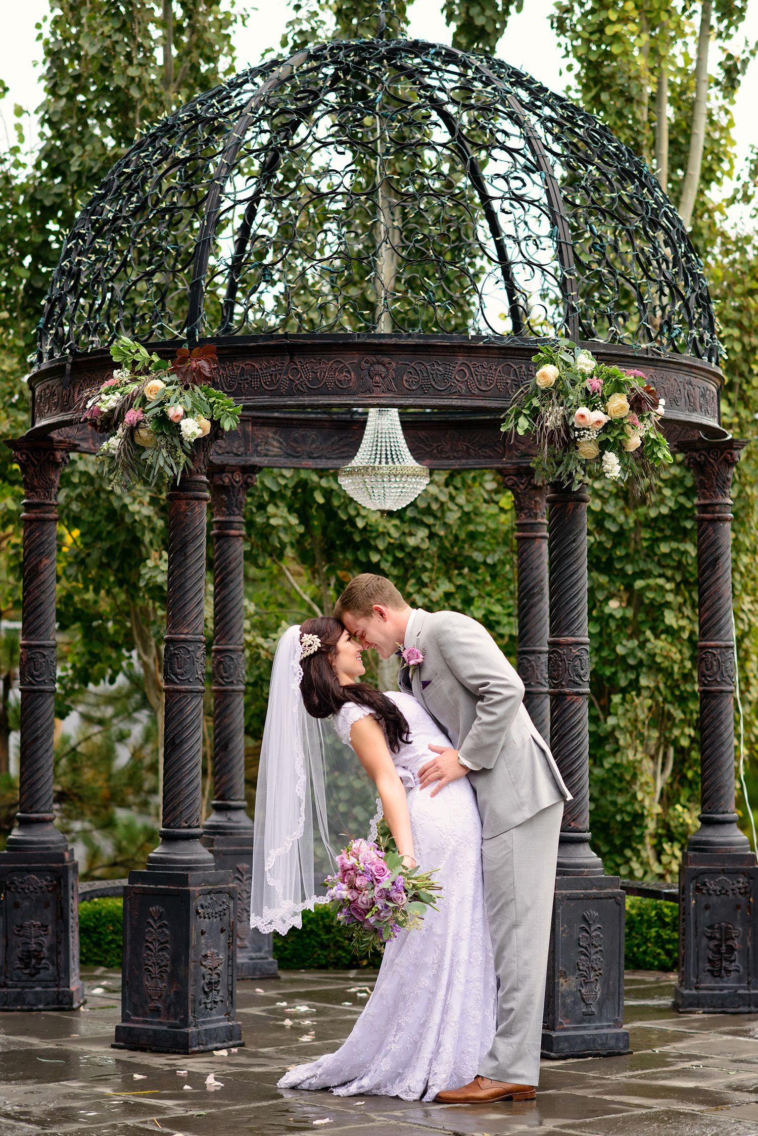The dress garden utah - Sleepy Ridge Weddings Events Garden Room Gazebo Utah Venue Orem Bride