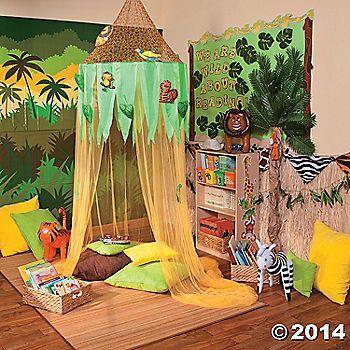 Jungle reading corner afrika pinterest for Raumgestaltung literacy