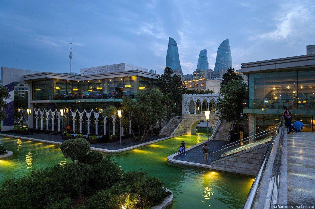 Baku The Capital City Of Azerbaijan City Cities Buildings Photography Baku City Azerbaijan Travel Capital City