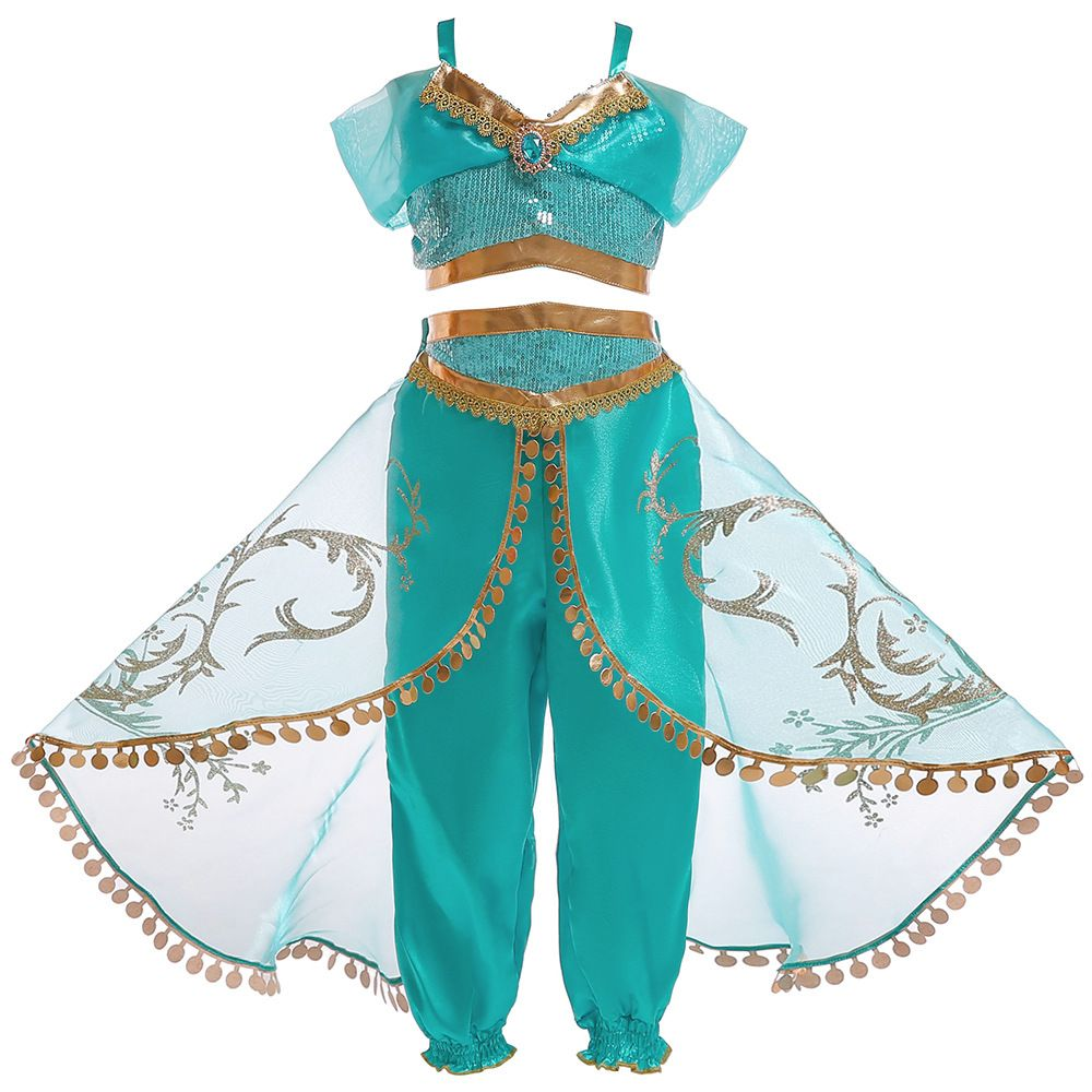 UK Mia and Me Magic Dress Kids Girls Fancy Dress Outfits Child Cosplay Costume