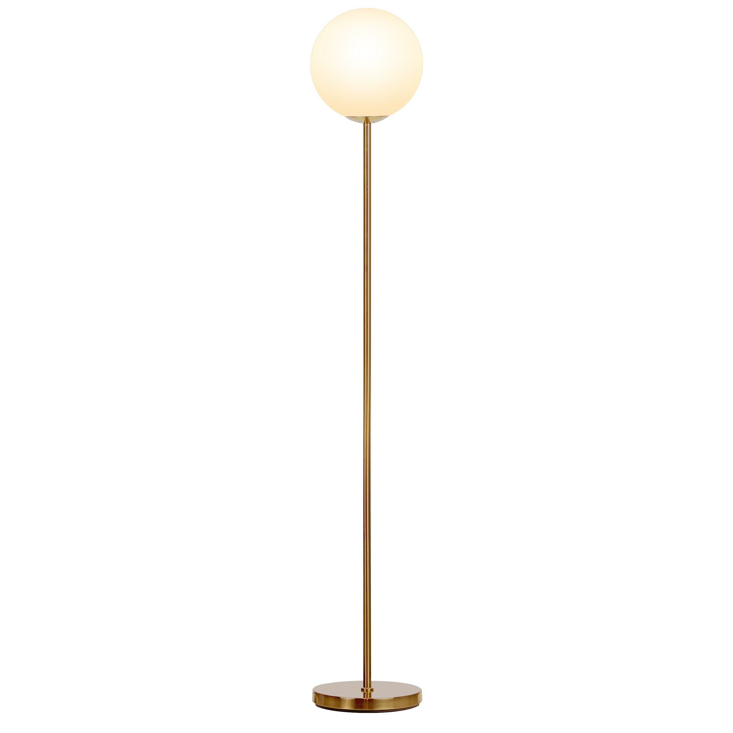 Brightech- Luna LED Globe Floor Lamp – Warm White Light - Energy ...