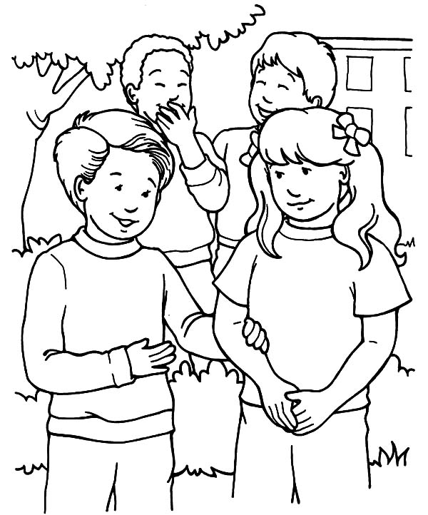 Helping Others With Friends Coloring Pages Coloring Sky Bear Coloring Pages People Coloring Pages Coloring Pages For Teenagers