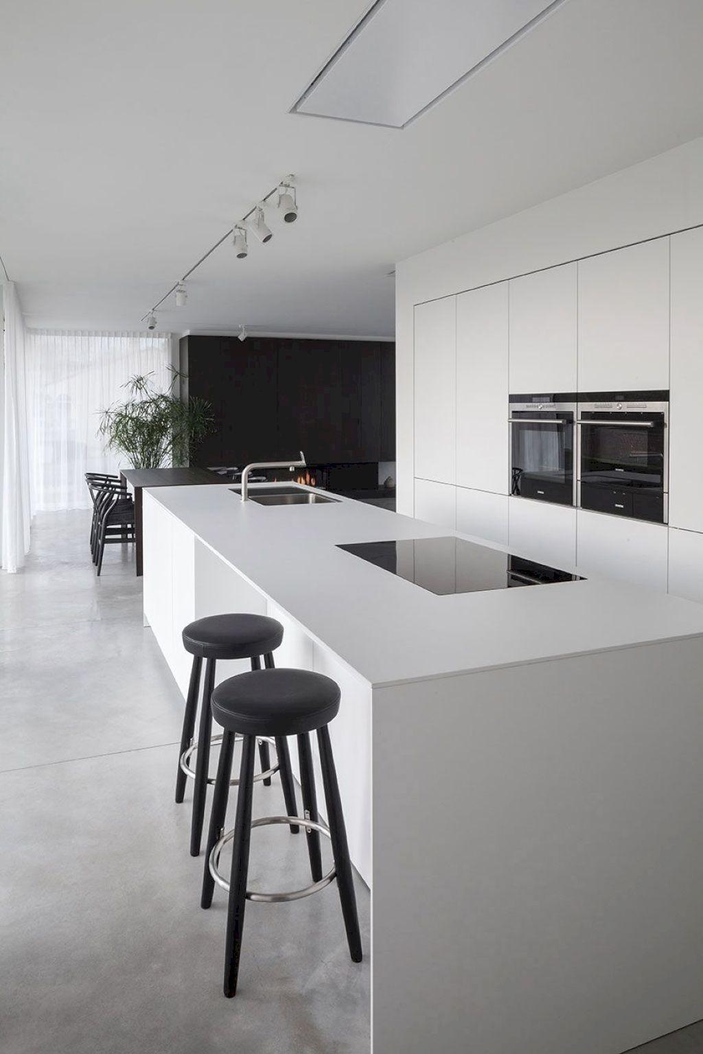 80 Luxury White Kitchen Design and Decor Ideas images