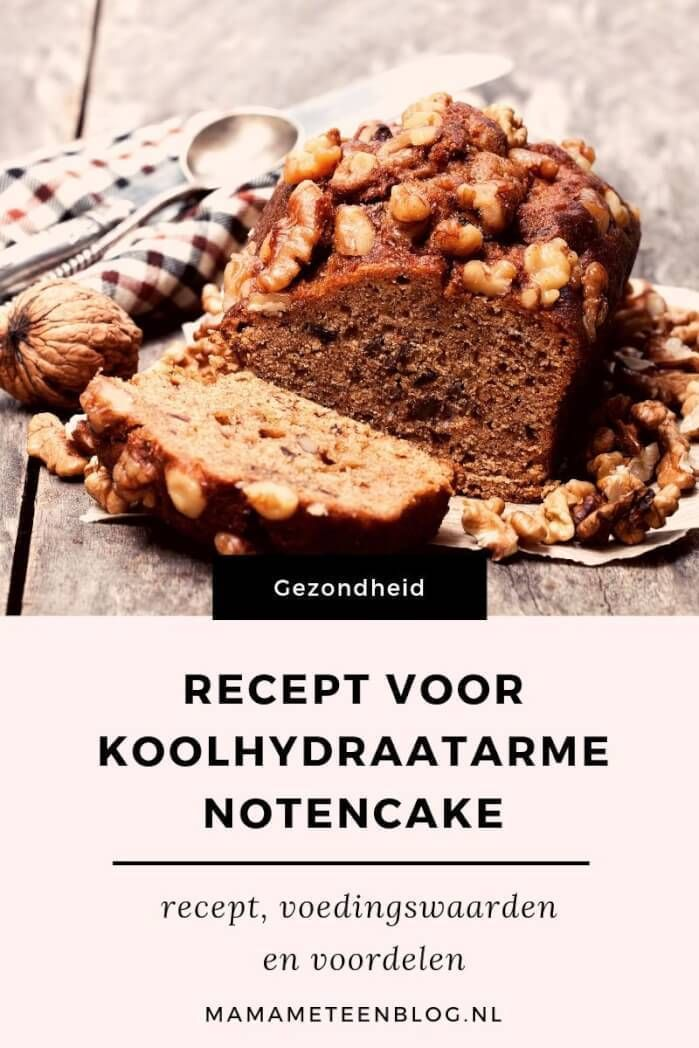 Een koolhydraatarme notencake maak je eenvoudig zelf!