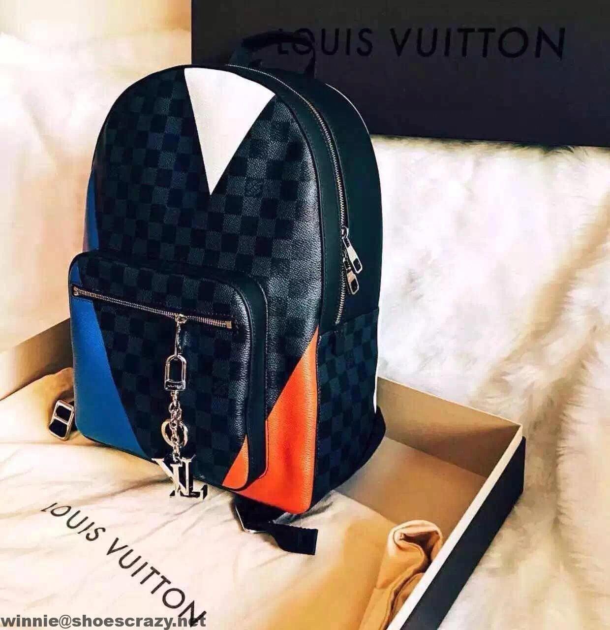 5d96de98d8 Louis Vuitton America s Cup Damier Cobalt Regatta Josh Backpack Bag N41612  2016  Louisvuittonhandbags
