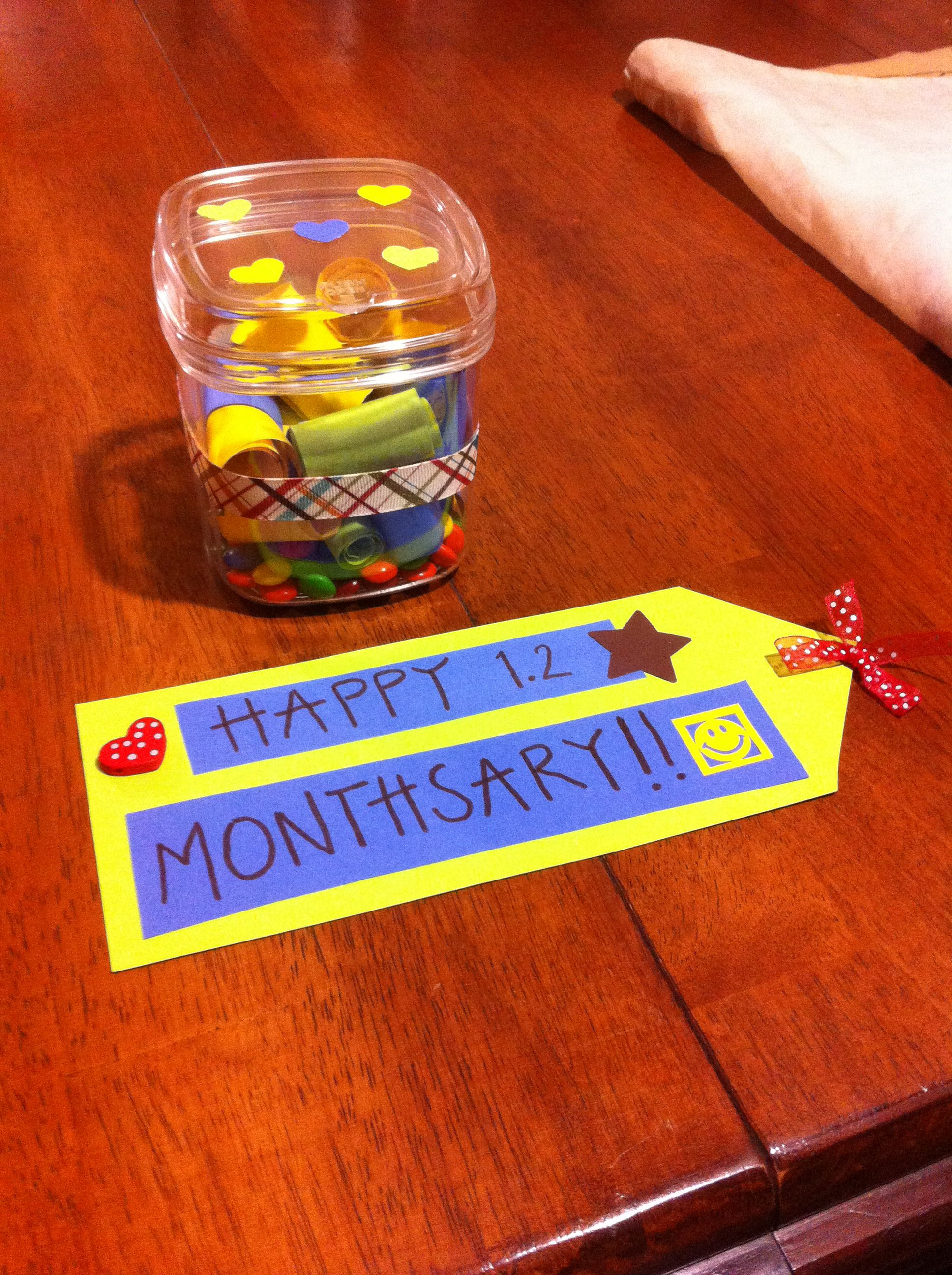 Monthsary gift projects to try pinterest gift monthsary gift negle Image collections