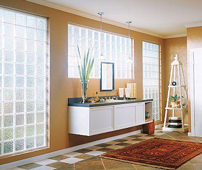 Glass Block Windows   Insulating, Private U0026 Lots Of Light