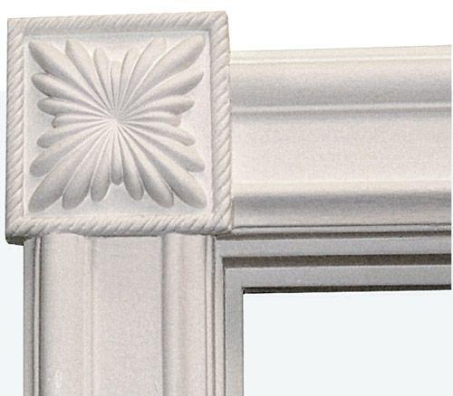 Window Moldings Interior On The Picture Below Decorative Corner
