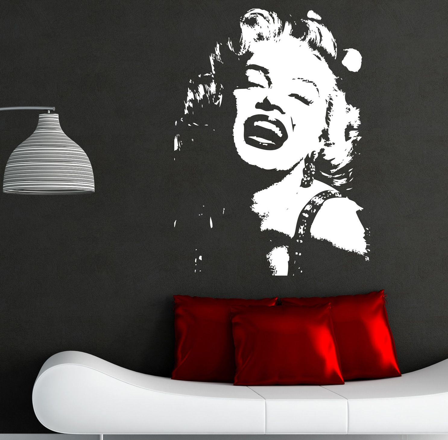 Lovely MARILYN MONROE WALL STICKER ART DECALS I1