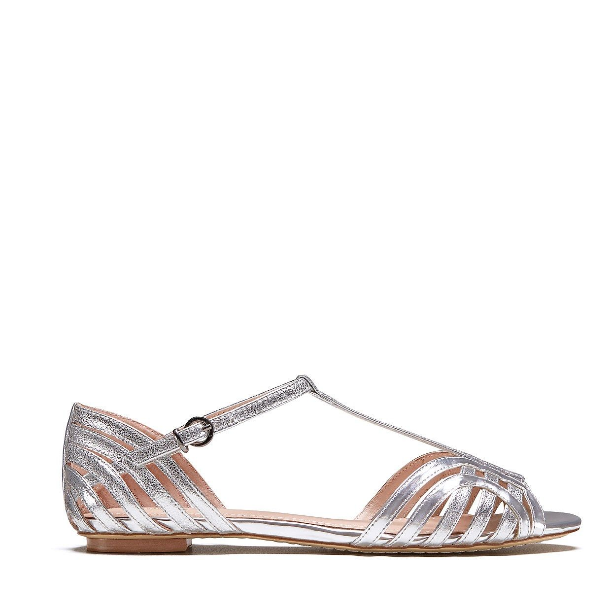 Abacus Sandal A Style Staple In New Season Metallic Sandals