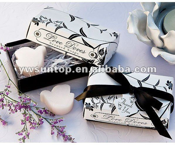 Hot Sale Scented Love Bird Soaps Favors Cheap Wedding Favors And