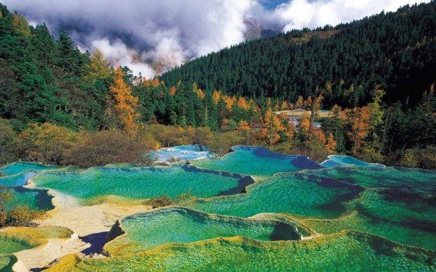 Huanglong Scenic Area, Cina  Dall'Italia alla Nuova Zelanda: i 30 parchi nazionali più belli   Repubblica Viaggi
