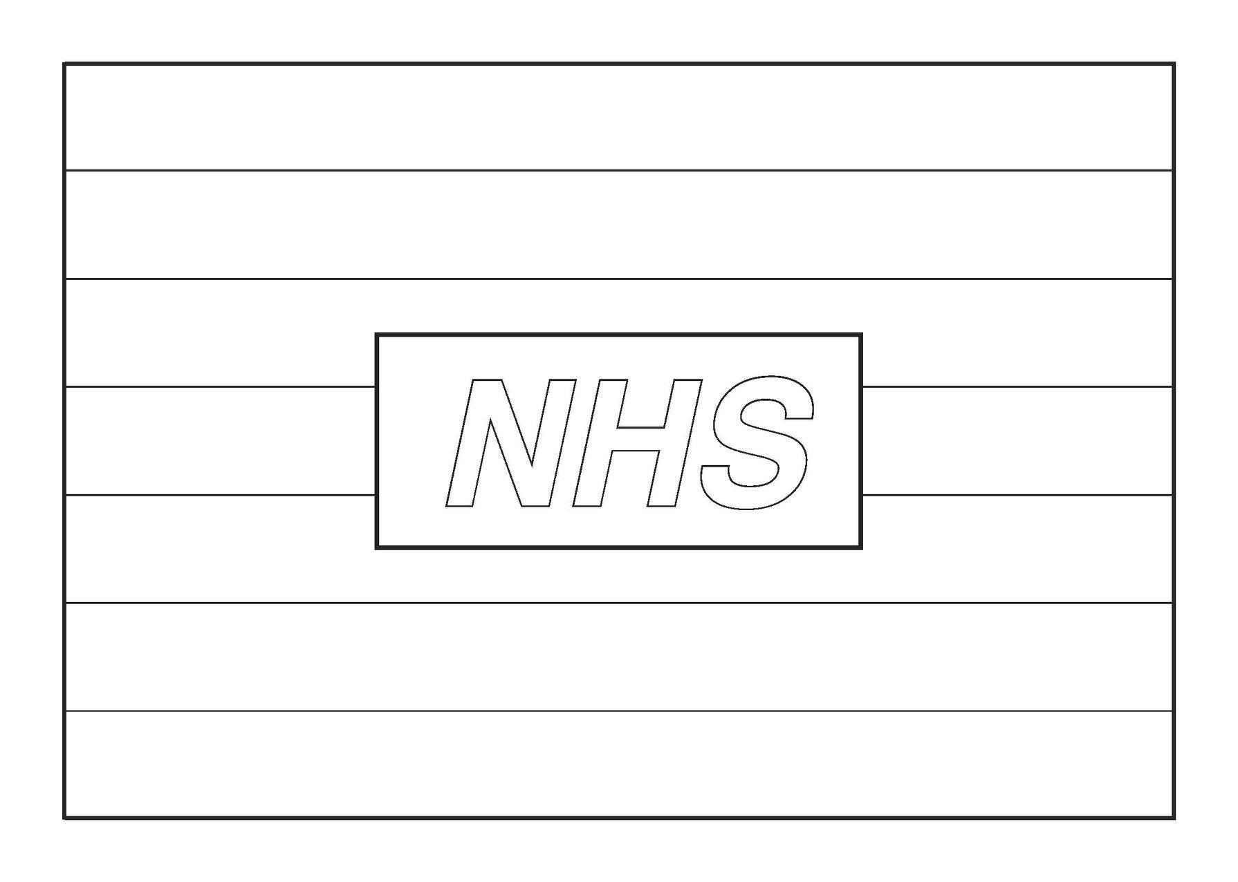 Nhs Colouring Page Mindfulness Colouring Nhs Coloring Pages