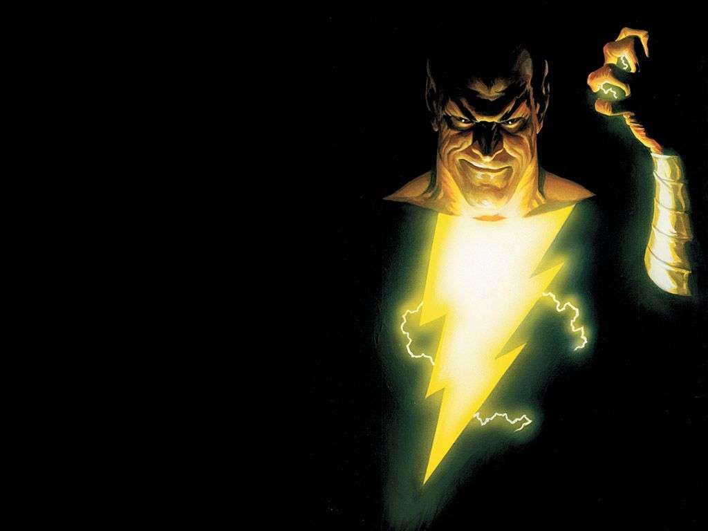 Black Adam Vs Shazam