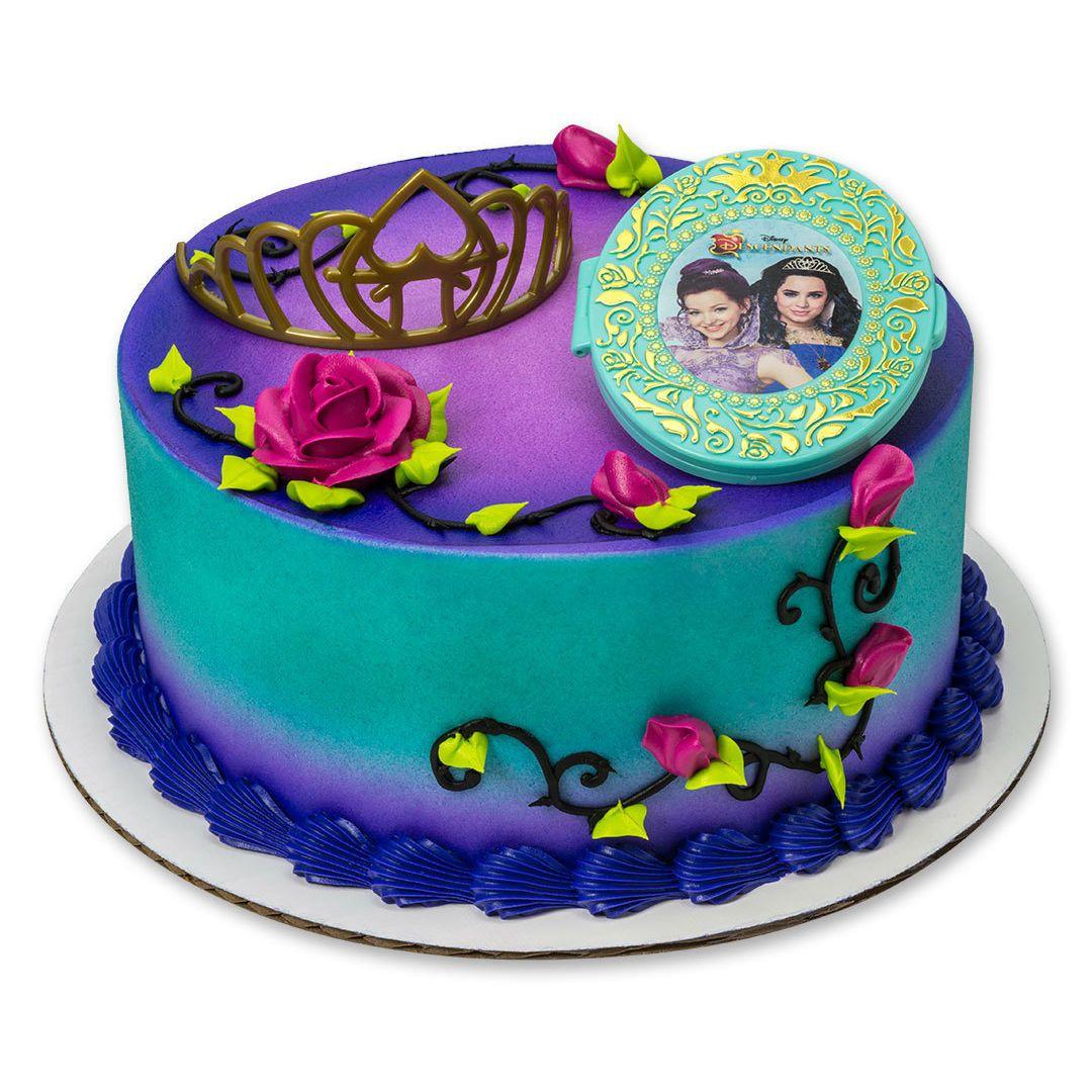 Disney S Descendants Under Your Spell Cake Topper Party