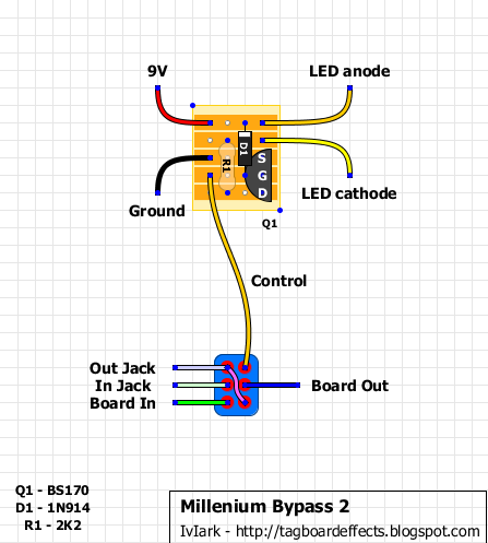 1bc52a47317dad8b46afc34aa07661c9 the millennium bypass, or, how to get a status led as well as clipper foot switch wiring diagram at crackthecode.co