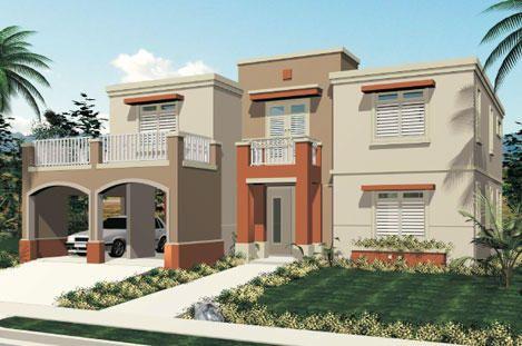 Pintura verde para exteriores fachadas de casas buscar for Colores modernos para fachadas