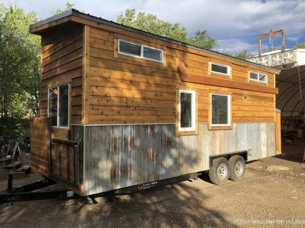 To The Stars Tiny House by Rocky Mountain Tiny Houses #tinyhousebathroom