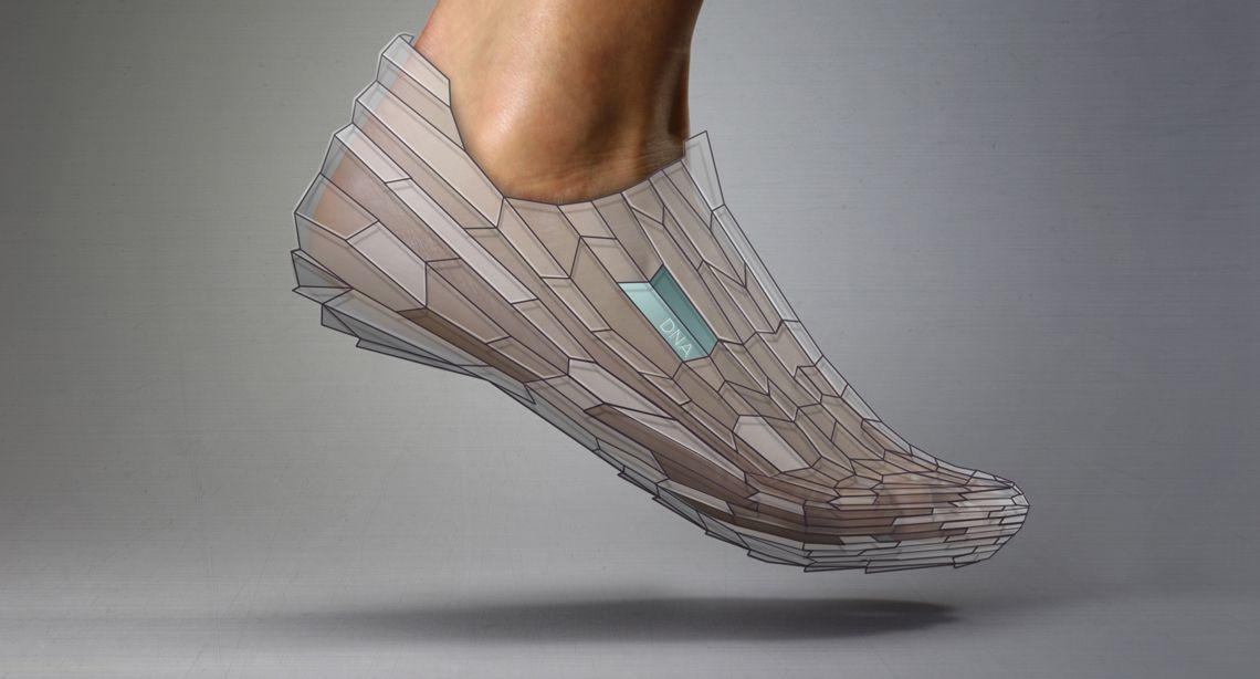 DNA Shoe Concept | Pensar Development