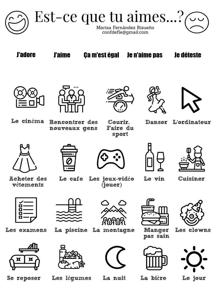 2 Te Gusta Ejercicio Para Colorear Y Practicar Los Gustos Est Ce Que Tu Aimes Exercice Pour Color French Flashcards French Language Lessons Teaching French