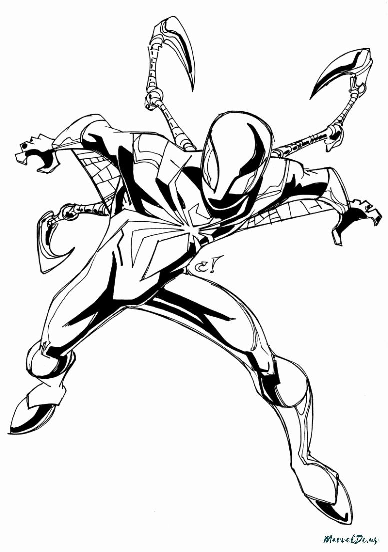 Coloring Pages Of A Avengers Iron Spiderman Suit For Kids Spider Coloring Page Avengers Coloring Avengers Coloring Pages