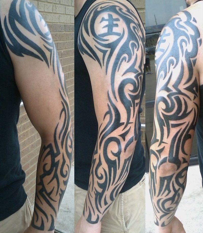 quel tatouage bras homme est fait pour vous 50 id es en. Black Bedroom Furniture Sets. Home Design Ideas