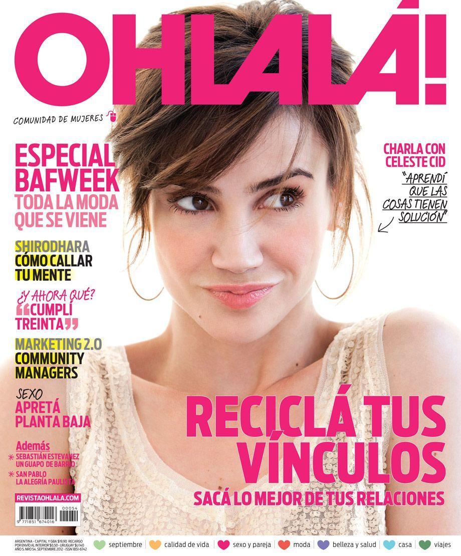 Celeste Cid - Tapa Septiembre 2012 | Las tapas de Ohlalá