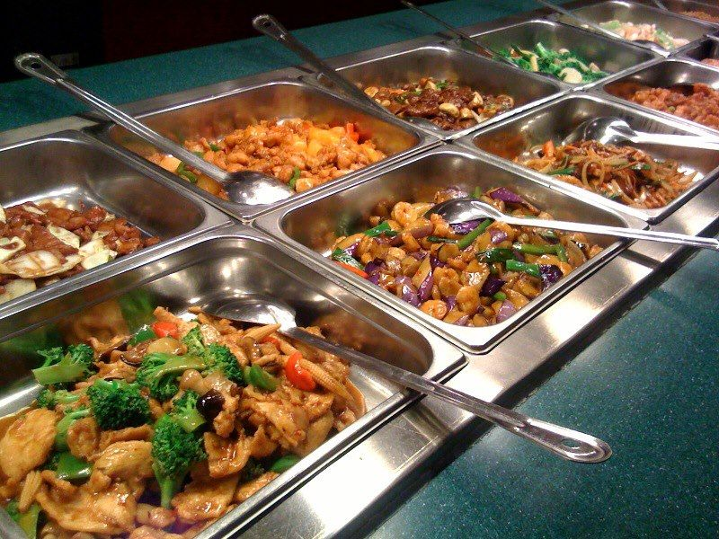 A buffet for your weekend chinese food buffet food