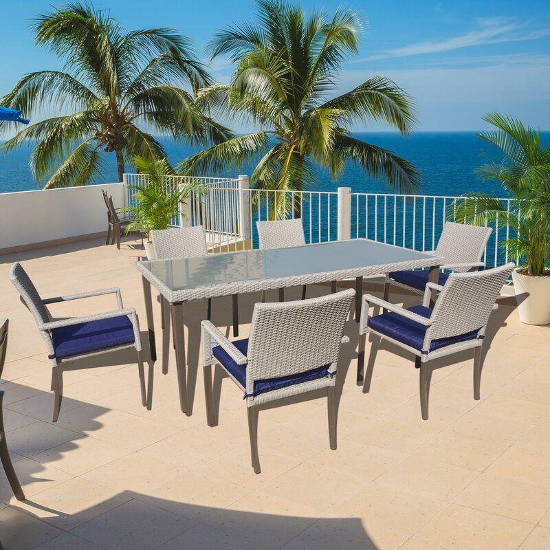 32++ Tellara outdoor 7 piece dining set with cushions Various Types