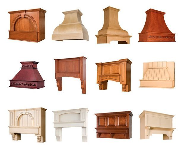 A World Of Embellishment Options Is Possible With #custom Range Hoods And  Arched Valances From · Wood Range HoodsKitchen ...