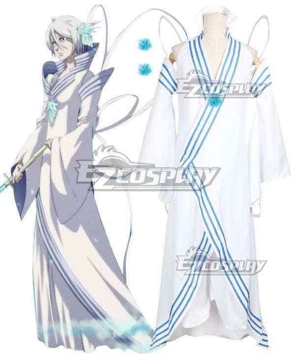 Bleach Kuchiki Rukia Hakka No Togame Cosplay Costume