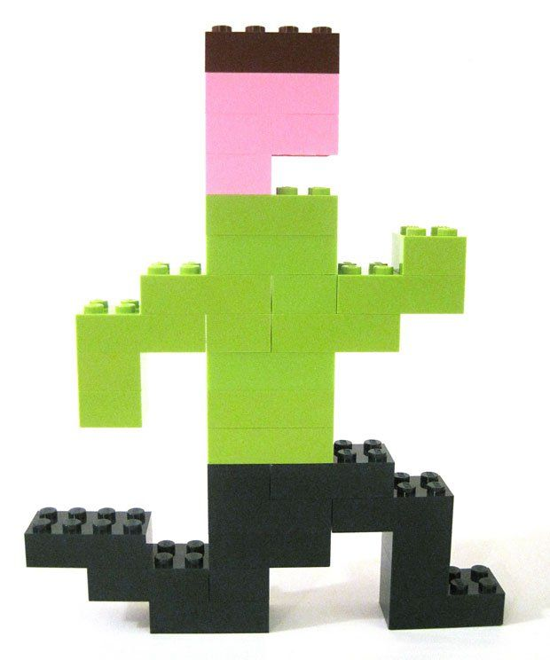 Pitfall Harry in LEGO