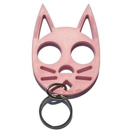 The Wildcat Personal Keychain Pink Self Defense Keychain Self